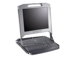 033M77 - Dell 17-inch Rackmount LCD Panel with Keyboard