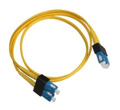 12211-5M - APC Duplex Fiber Optic Network Cable Fiber Optic 16.40 ft 2 x LC Male Network 2 x LC Male Network Orange