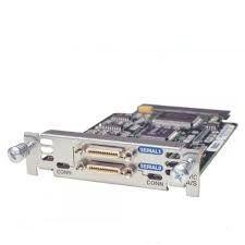HWIC-2AS-RF - Cisco 2-Port AsynchronousSynchronous Serial WAN Interface Card - expansion module - 2 ports