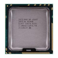 338-17066 - Dell 3.60GHz 6.40GT/s 12MB Cache Socket LGA1366 Intel Xeon X5687 Quad-Core Processor