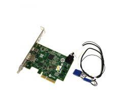 743098-002 - HP Single Port Thunderbolt-2 PCI-Express x4 IO Card with Display Port Input