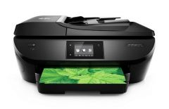 B9S76A - HP OfficeJet 5740 All-in-One Color Photo Printer with Wireless & Mobile Printing (Refurbished)